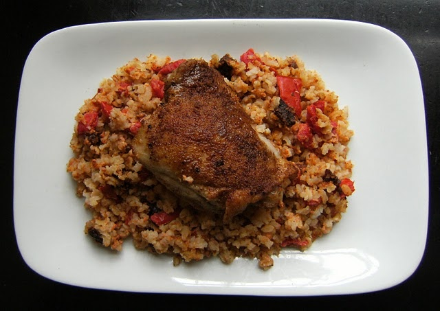 moroccan chicken and rice   food   Pinterest