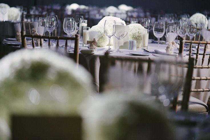 Elegant wedding centerpiece by Live Love