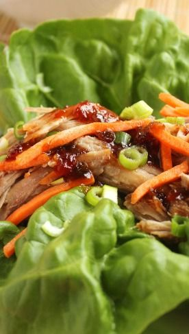 Slow Cooker Kahlua Pork with Sweet Chili Pineapple Sauce