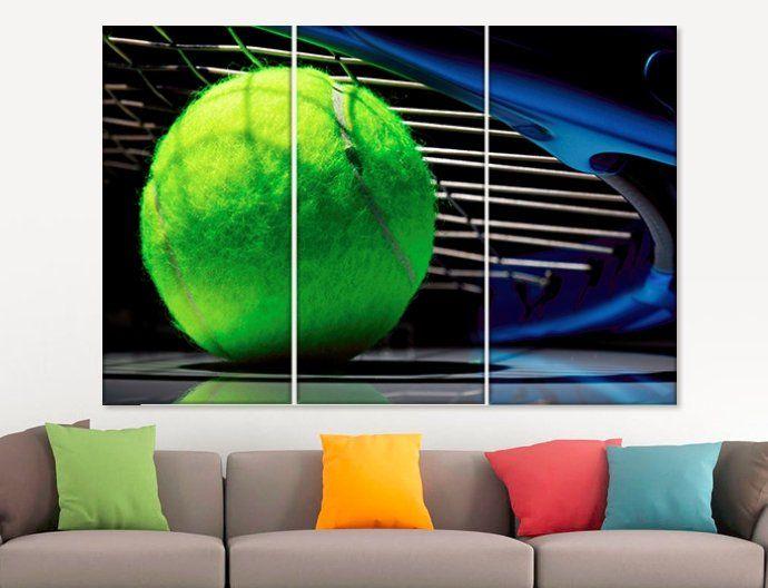 Tennis Wall Art Tennis Canvas Print Tennis Coach Gift Etsy Canvas Prints Wall Art Canvas Prints Sports Wall Art