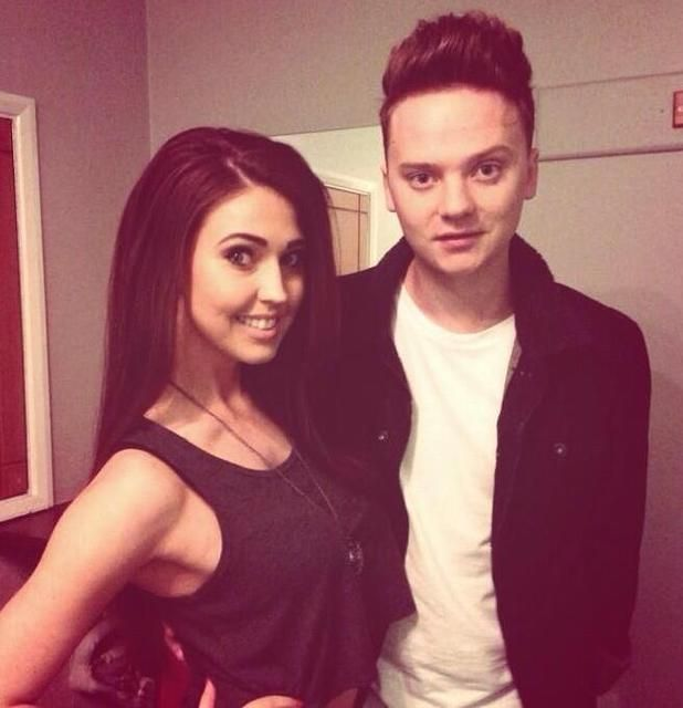 Conor with his ex-girlfriend Victoria
