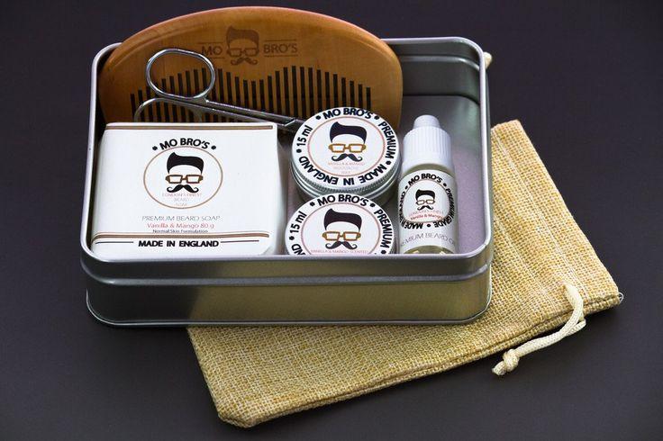 Mo Bro's Classic Cedarwood XL 8 Piece Grooming Kit Amazon