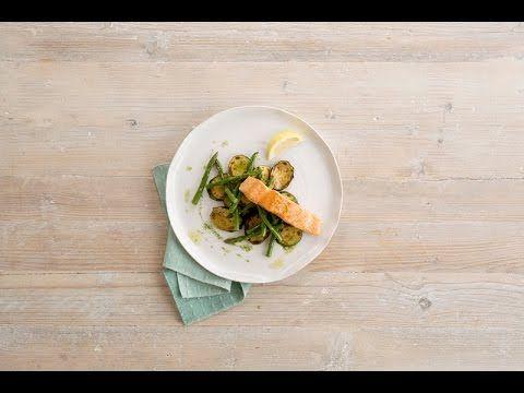 Alpro oppskrift - Asparges med kremet saus og røkelaks