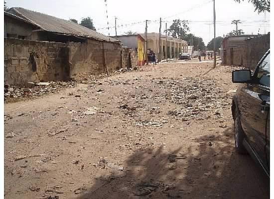 Kololi slums, Gambia