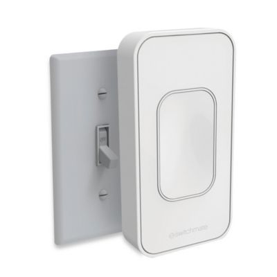 This is clever lighting made easy. The Switchmate Home One Second Smart Home Toggle Light Switch magnetically attaches instantly to your light switches. It is faster than installing a light bulb, and just as easy. Programmable timers. Smartphone control.