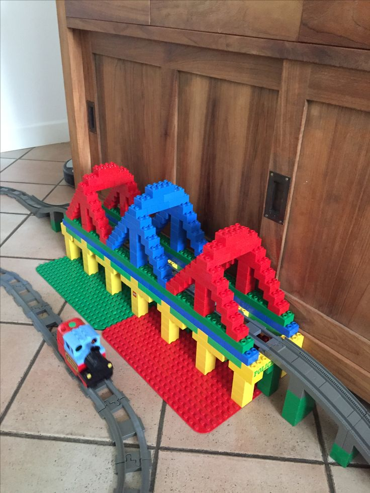 Duplo trainbridge treinbrug treinbaan