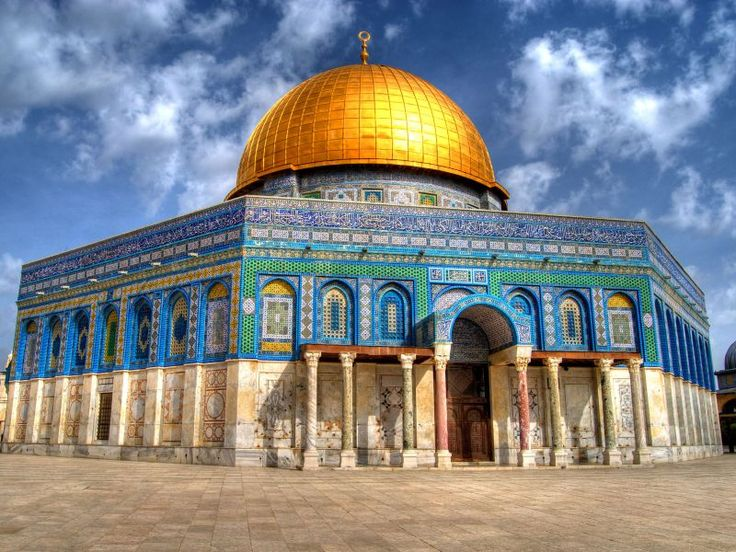After I went to Hebron I traveled to Jerusalem. I stayed here for a week and was able to visit the Sacred Al-Aqsa Mosque and the Dome of the Rock.