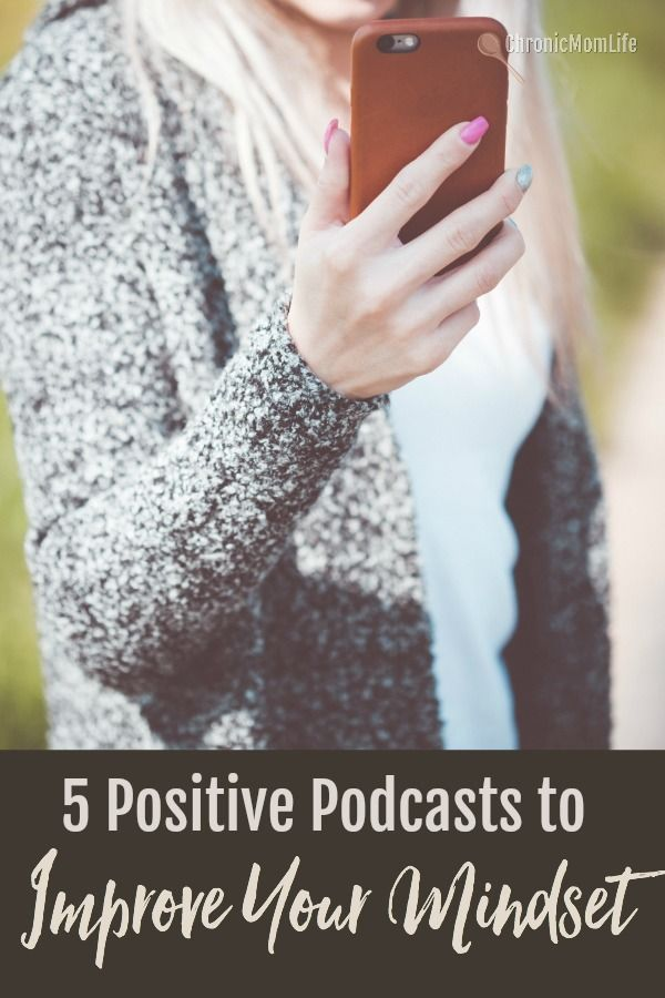 5 positive podcasts to improve your mindset #mentalhealth #depression #recovery #selfcare