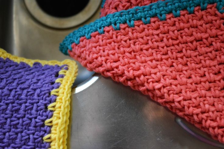 1000+ images about discloths on Pinterest Crochet dishcloth patterns, Free ...