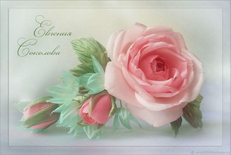 Купить Венок с розами и гортензией в интернет магазине на Ярмарке Мастеров