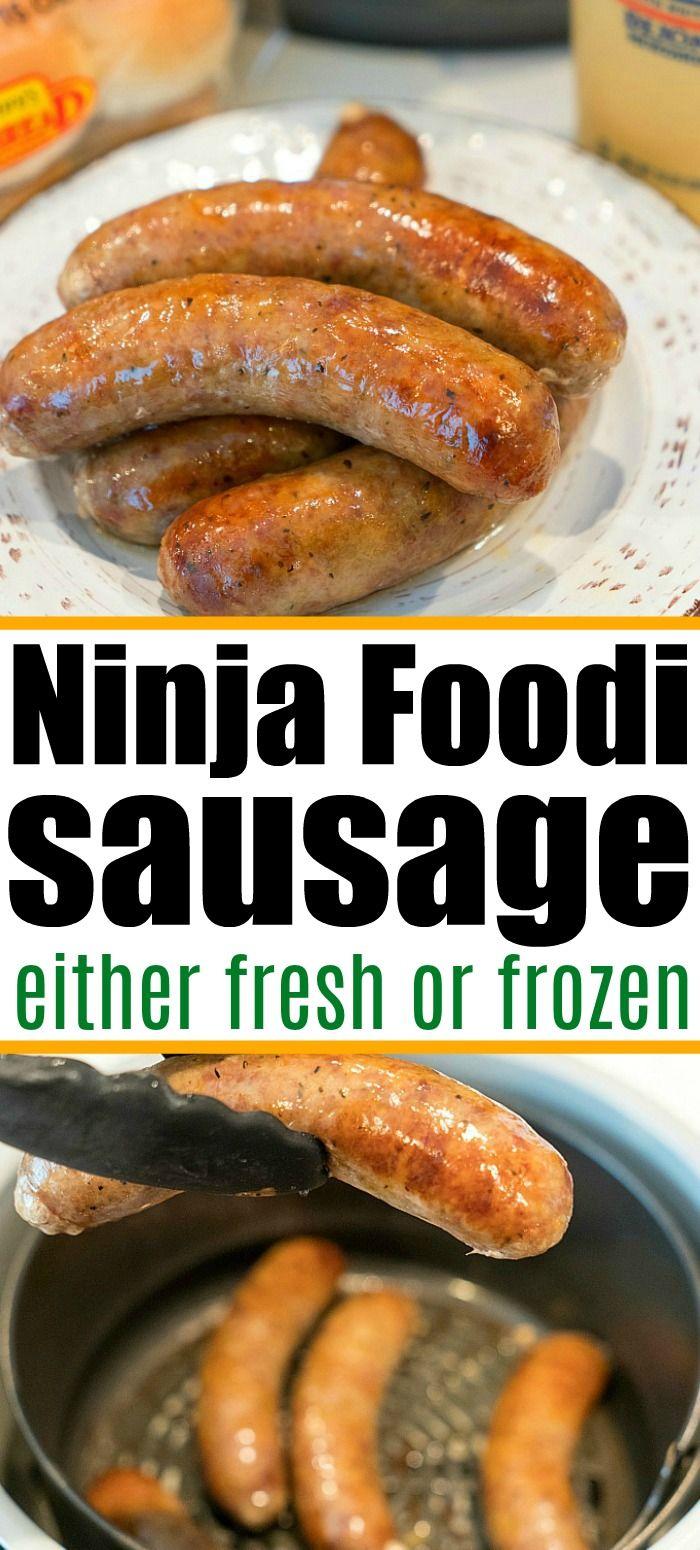 Ninja Foodi Sausage in 2020 Air fryer recipes healthy