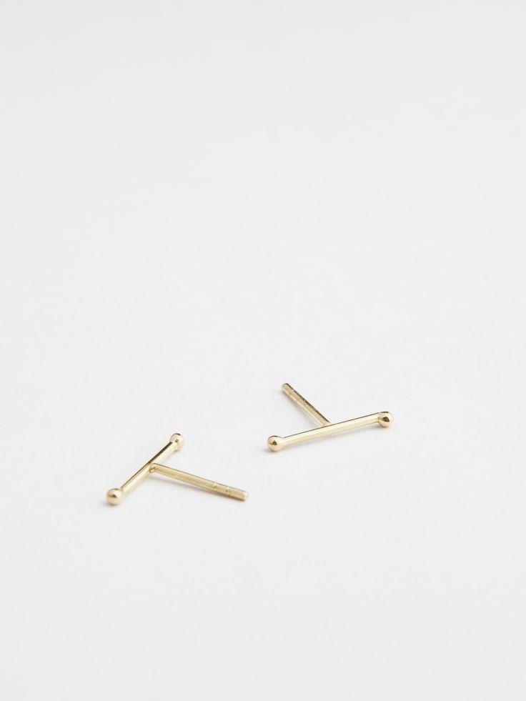 earrings - aude 2 - Anna Lawska Jewellery / collection - closeness -