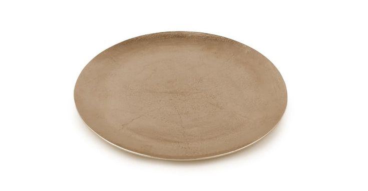 Sabla Gold Round Platter