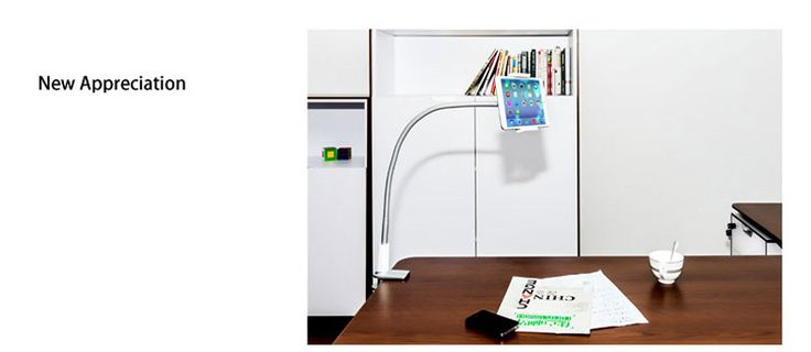 Best Long Arms Flexible Tablet Phone Holder iPad Stand For Bed Desk IPS02_11