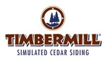 Homepage for Timbermill Simulated Cedar Siding: The only patented vinyl log siding in the industry.