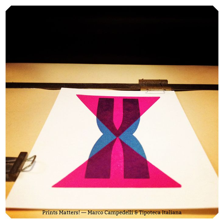 """— X — """"Print Matters!"""" è una collaborazione di Marco Campedelli & Tipoteca Italiana — presso Tipoteca Italiana. #printmatters! #marcocampedelli #tipotecaitaliana #letterpress #index"""