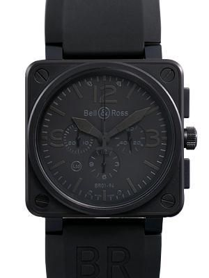 ベル&ロス BR01-94BLACK ステンレス ブラック スーパーコピー時計買取 ベル&ロスコピー Bell&Rossブランド偽物激安通販!