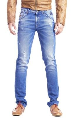 Espada Narrow Fit Men's Jeans - Buy Light Blue Espada Narrow Fit Men's Jeans Online at Best Prices in India | Flipkart.com