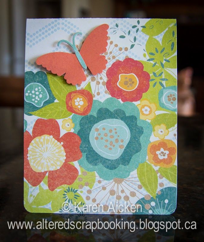 Altered Scrapbooking: Crazy 4 Challenges (C4C242)   What Season Is It?