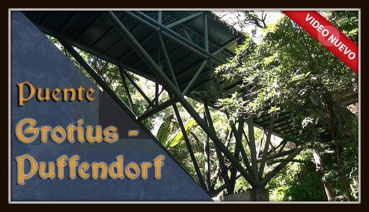 """#VideoNuevo   El Puente Grotius - Puffendorf   Conociendo """"La Marro"""" con Luis FIGUEROA El Puente Grotius - Puffendorf en la Universidad Francisco Marroquín, une el edificio académico donde está el mural de la Escuela de Salamanca, con el edificio de la Escuela de Negocios donde se encuentra la Plaza Adam Smith. ¡Visítanos! ➔ http://akademeia.ufm.edu/home/?curso=conociendo-la-marro"""