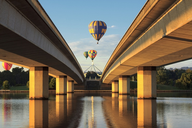 Hot Air Balloons - Canberra - Australia