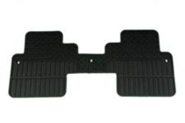 Acadia Denali Floor Mats, Rear Carpet Replacements, 2nd Row Captains Chairs:This one-piece Carpet Replacement Floor Mat for the rear floor of your Acadia duplicates your original production floor mats exactly.