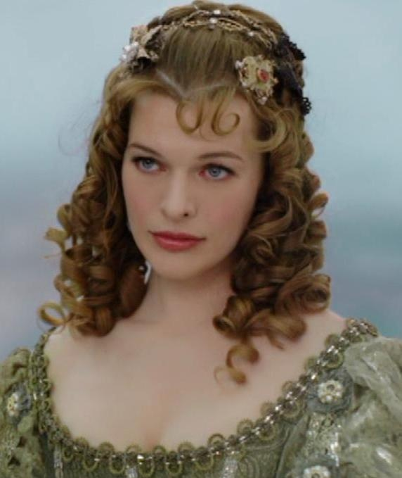 Now i know that she is the bad guy (women) but how do you hate someone with such grace and style, plus she can kick ass! Milla Jovovich as Milady de Winter