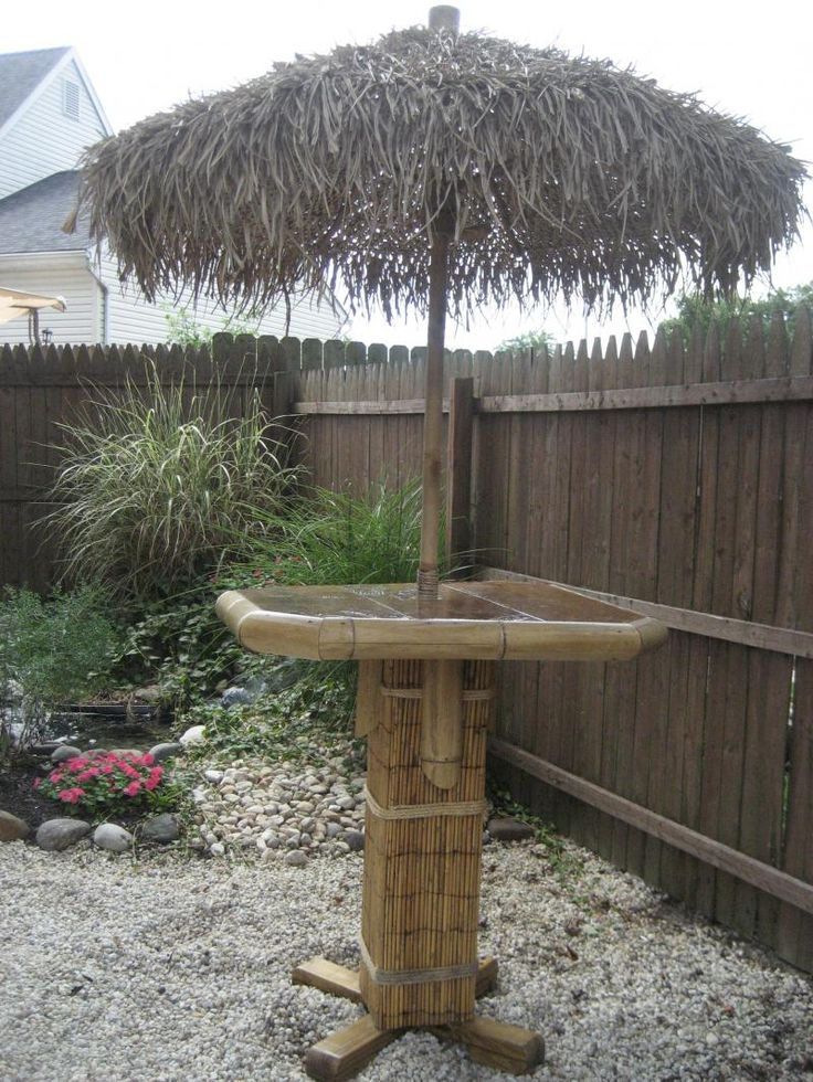 50 best images about Tiki Bars on Pinterest | Backyards ... on Tiki Bar Designs For Backyard id=75864