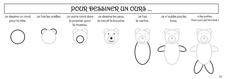 1000 images about boucle d 39 or arts visuels on pinterest - Dessiner un ours en maternelle ...