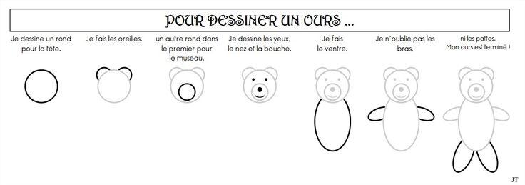 Comment dessiner un ours cliquer a animaux animaux pinterest comment and animaux - Comment dessiner un ours ...
