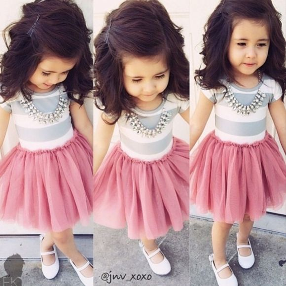 Kids Fashion | for little girls! Probably the closest thing to a tutu that i will dress my kid in. So cute!