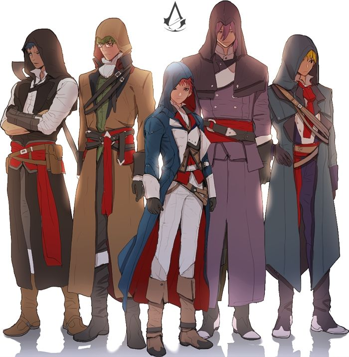 Kuroko/Assassins Creed. Best.Crossover.Ever.....Pun intended.