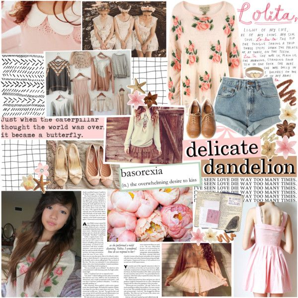 """""""She's just a delicate dandelion waiting to be destroyed by the slightest gust of wind."""" by elaine-elizabethxo on Polyvore"""