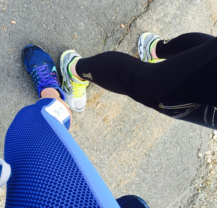 Legfie with fellow recruit Kay this morning!