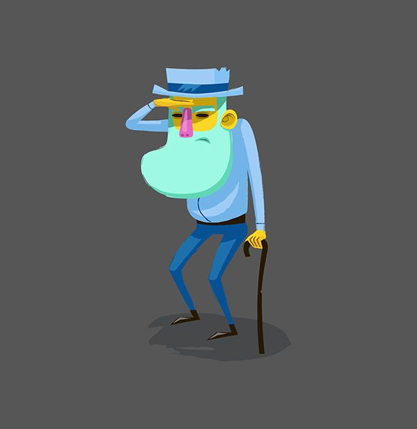 Characters Set on Behance