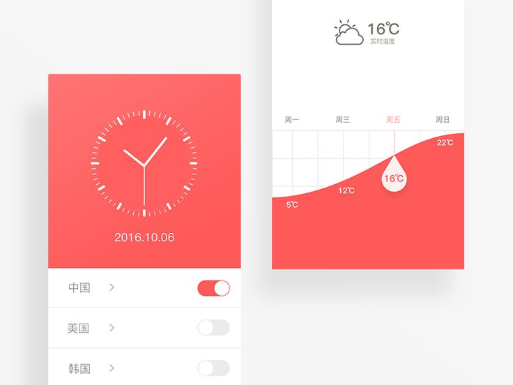 World Time app by luking #Design Popular #Dribbble #shots