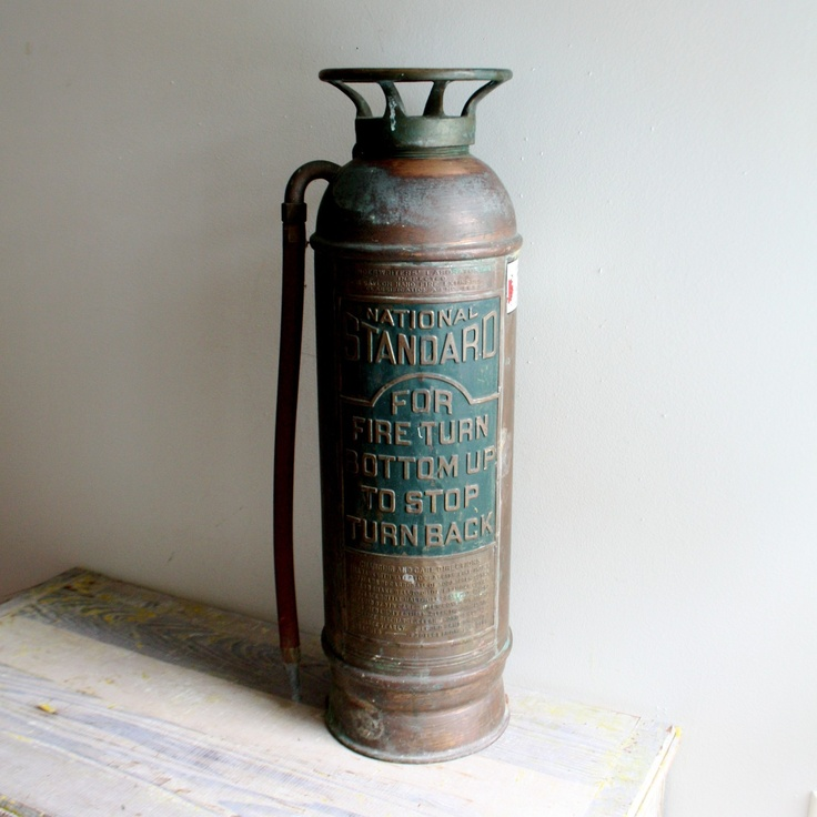 Fire Extinguisher Old Security Sistems