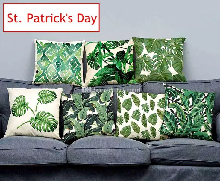 Ins St. Patrick'S Day Tropical Cushion Covers Hibiscus Flowers Throw Pillows Covers Tropical Cotton Line Cushion Pillow Case Without Inner Cotton Pillow Covers Organic Pillow Cases From Bakingirl, $2.02| Dhgate.Com