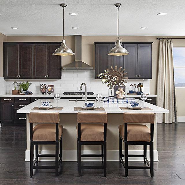 Dark Wood Cabinets Are Making A Comeback California Kitchen