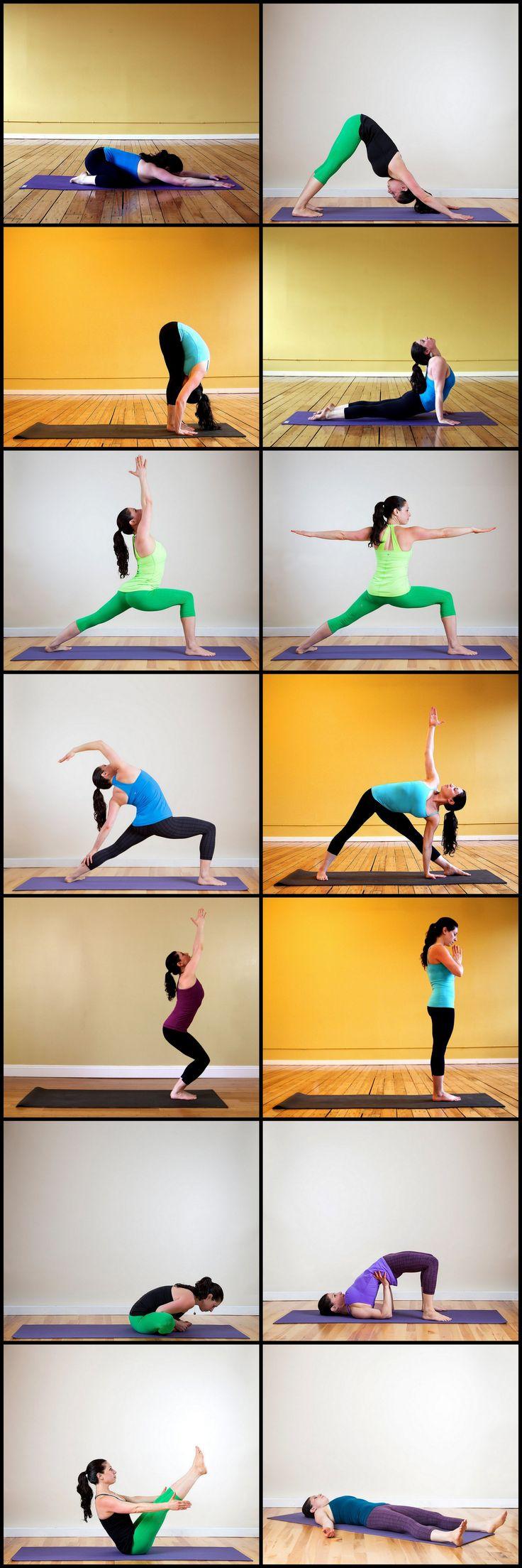 Best 25 Beginner Yoga Sequences Ideas On Pinterest