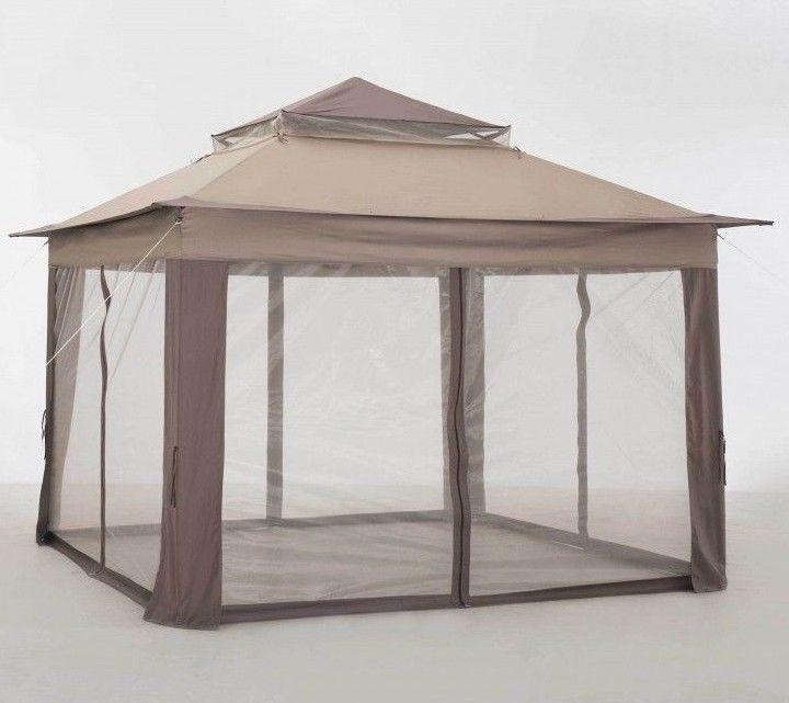 Patio #Gazebo #Canopy 10x10 Outdoor Backyard Garden Sun Shelter Soft Top Square