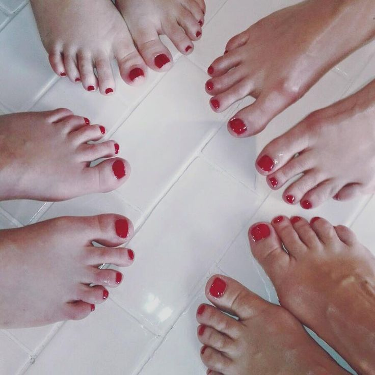 Pedicure time at The Spa Kitchen
