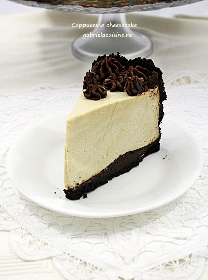 Cappuccino cheesecake | gabriela cuisine - recipes