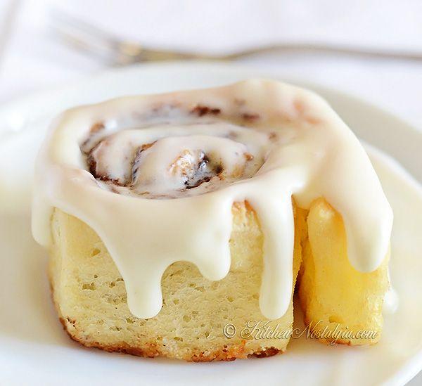 Louco Dough Cinnamon Rolls - fácil receita para rolos de canela feitos a partir do zero, em 1 hora;  nenhum amasso necessário - kitchennostalgia.com