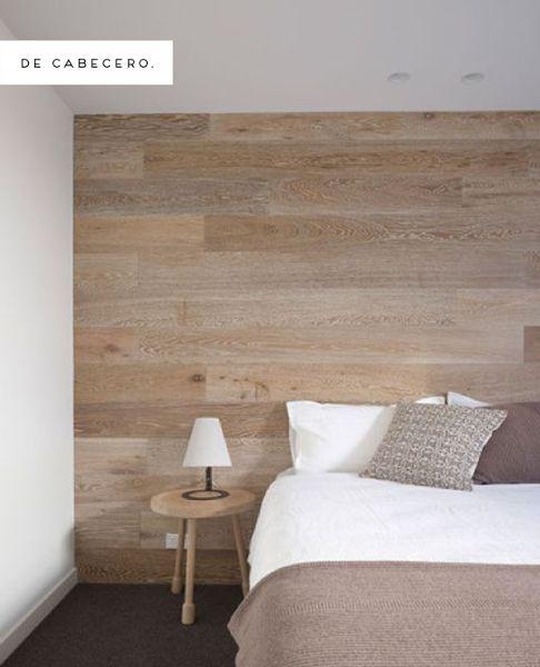 Inspiración: Paredes de madera | Decorar tu casa es facilisimo.com                                                                                                                                                                                 Más