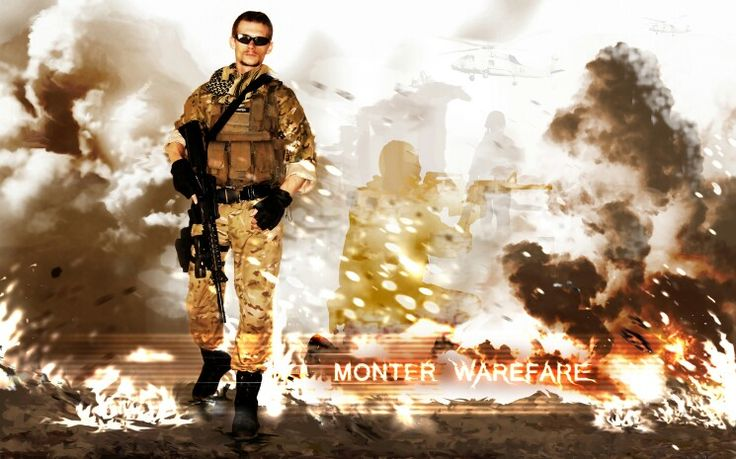 Monter warefare old phto edited for fun