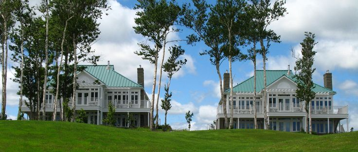 Manor-style guest houses overlook our award-winning golf course.