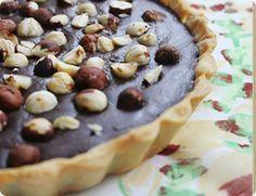 Tarta-de-chocolate-y-avellanas #postres #navidad #tortas #tartas #dulces #desserts