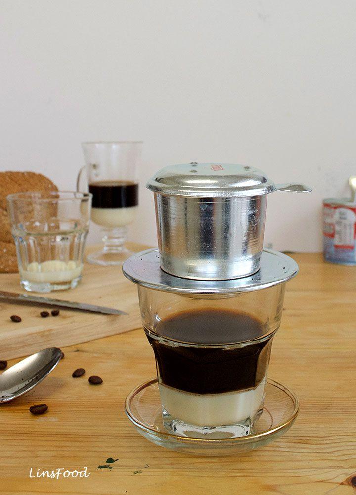 How To Make Vietnamese Coffee With Condensed Milk Ca Phe Sua Recipe Vietnamese Coffee Gourmet Coffee Coffee Recipes
