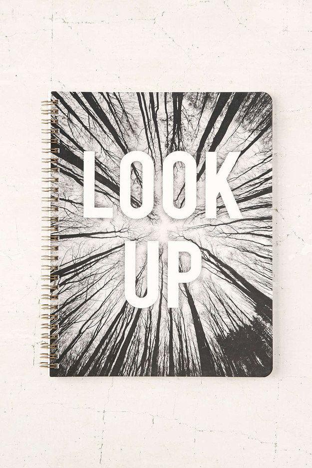 Este que te motiva a mirar a tu alrededor. | 24 Cuadernos increíblemente grandiosos en los que querrás escribir